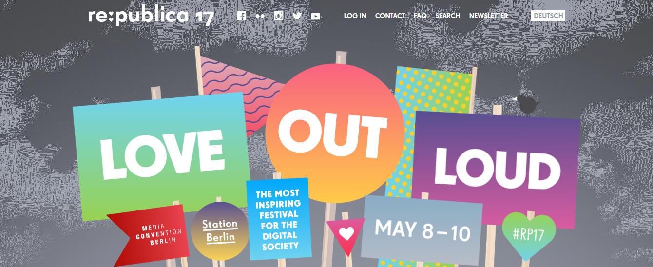 To OK GR στο re:publica 17: Το πιο εμπνευσμένο φεστιβάλ για την ψηφιακή κοινότητα φέρνει κοντά Βερολίνο, Δουβλίνο και Θεσσαλονίκη