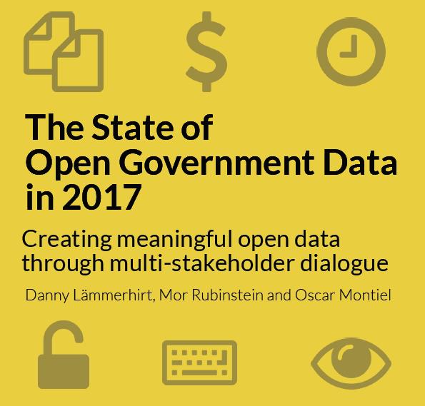 Αξιολόγηση των ανοιχτών δεδομένων που παρέχονται από κυβερνήσεις για το 2017