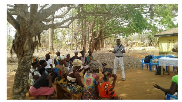 Ο Nana Baah Gyan ήταν ένας ενσωματωμένος συνεργάτης που συνεργάστηκε με τους δικηγόρους για κοινοτικές εναλλακτικές λύσεις (ACA) στην Γκάνα για να βοηθήσει με τις ανάγκες τους σε δεδομένα.
