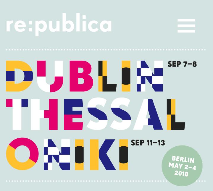 Το OK Greece στο re:publica 2017/ 11-13 Σεπτεμβρίου, Αποθήκη 1 (Λιμάνι)