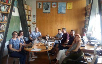 Συνάντηση εργασίας με το Τμήμα Οργάνωσης και Πληροφορικής του Πανεπιστημίου του Ζάγκρεμπ