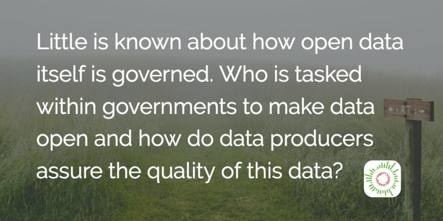 Ανοικτά δεδομένα και ανοιχτή διακυβέρνηση: αλληλεπίδραση ή αποσύνδεση;