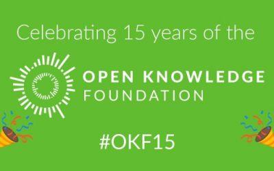Για ένα δίκαιο, ελεύθερο και ανοικτό μέλλον: γιορτάζοντας τα 15 χρόνια του Open Knowledge Foundation
