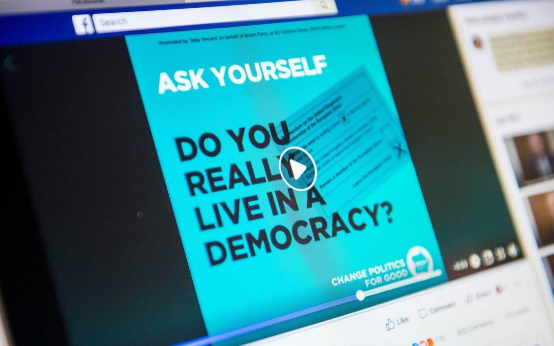 """Η καταστολή των πολιτικών διαφημίσεων από την Google """"θα έχει ελάχιστες επιπτώσεις στο Ηνωμένο Βασίλειο"""""""